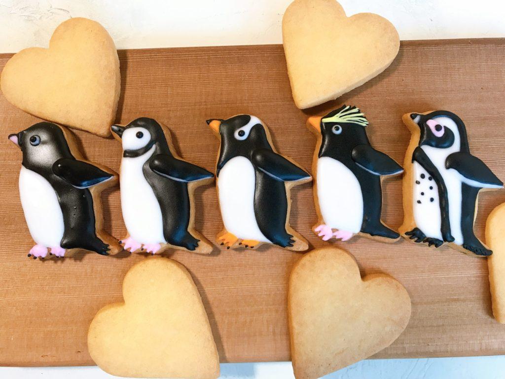 ペンギン アイシングクッキー