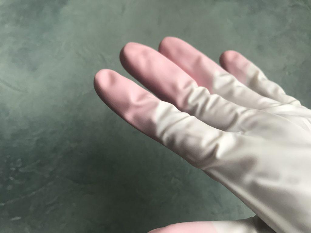 飴細工 ゴム手袋 道具