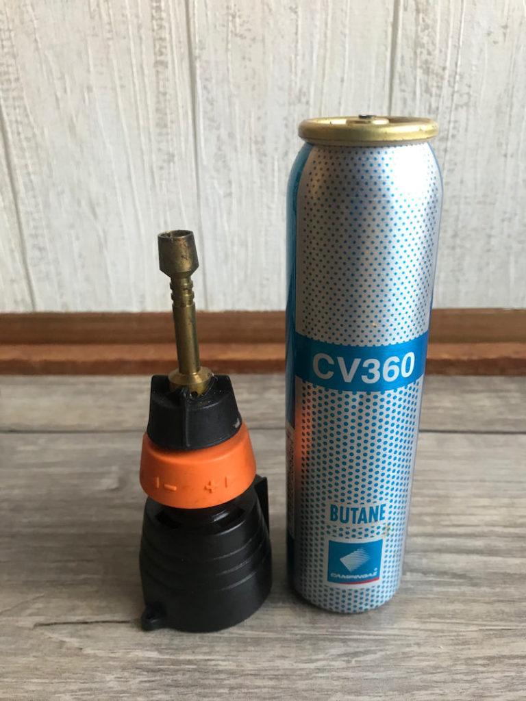 飴細工の道具 ガスバーナー