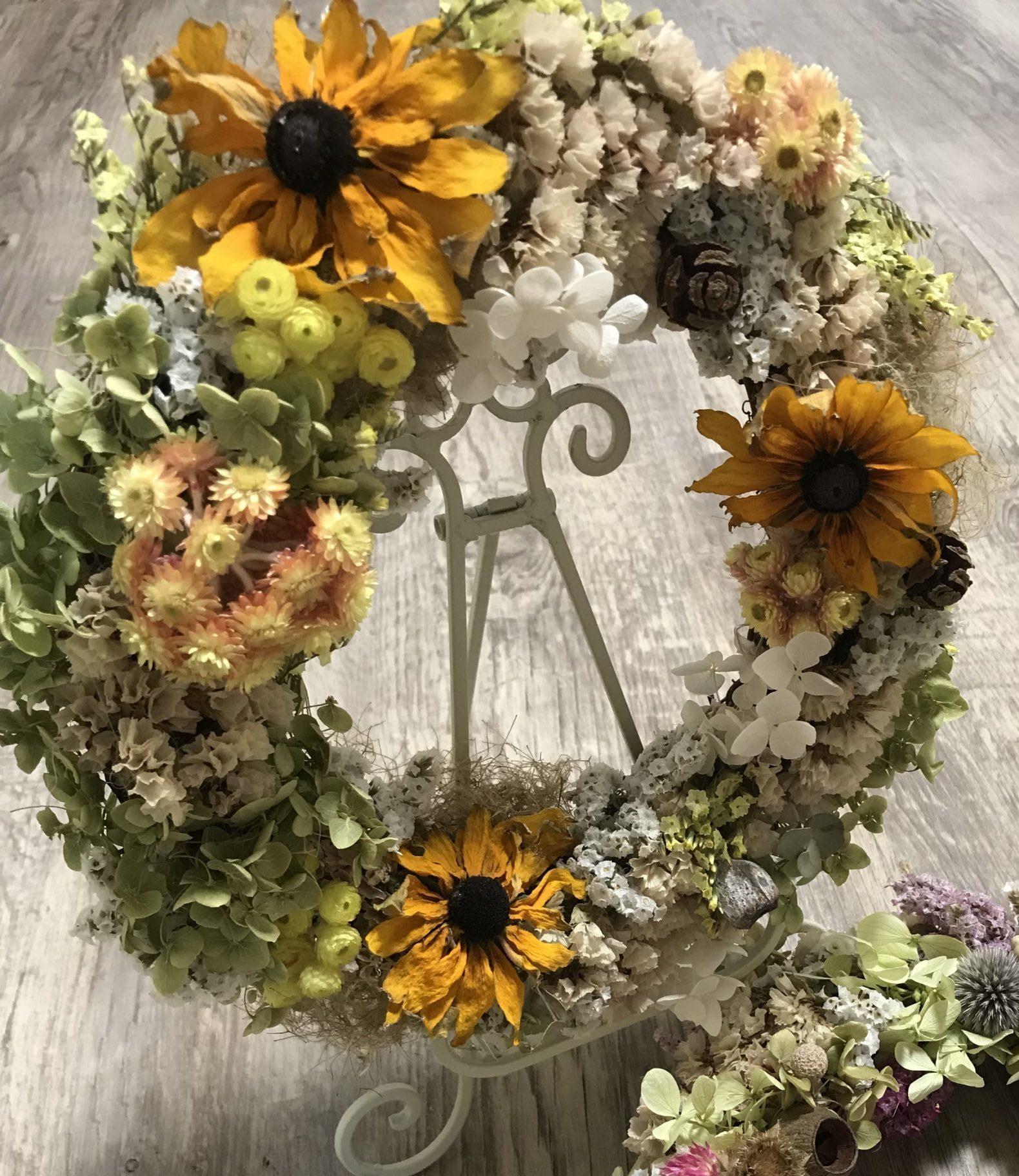 ドライフラワー 向く花・植物 ルドベキア